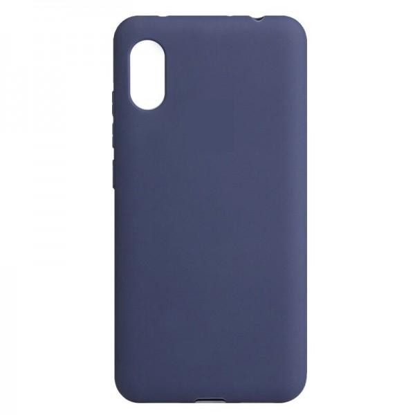Husa Ultra Slim Upzz Slim Soft Pentru Xiaomi Redmi 9a ,1mm Grosime , Navy Albastru imagine itelmobile.ro 2021