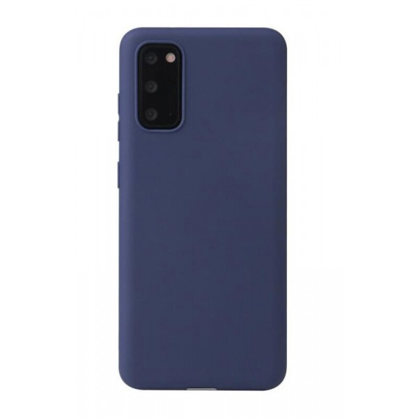 Husa Ultra Slim Beline Pentru Samsung Galaxy S20 Fe ,1mm Grosime , Navy Albastru imagine itelmobile.ro 2021