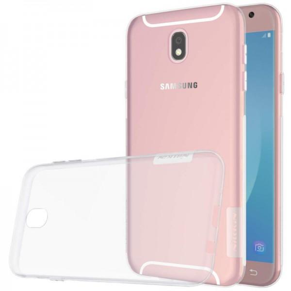 Husa Slim Nillkin Nature Samsung J7 2017 Transparenta imagine itelmobile.ro 2021