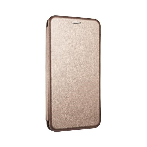 Husa Flip Carte Cu Magnet Lux Upzz Samsung A42 5g, Rose Gold imagine itelmobile.ro 2021