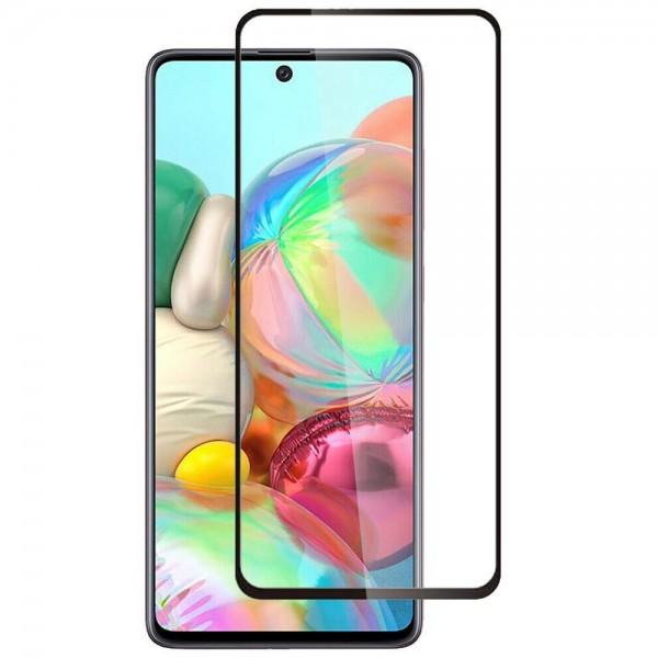 Folie Protectie Ecran Hybrid Upzz Ceramic Full Glue Pentru Samsung Galaxy A71, Transparenta Cu Margine Neagra imagine itelmobile.ro 2021