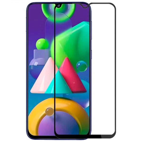 Folie Protectie Ecran Hybrid Upzz Ceramic Full Glue Pentru Samsung Galaxy M21, Transparenta Cu Margine Neagra imagine itelmobile.ro 2021