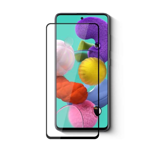 Folie Protectie Ecran Hybrid Upzz Ceramic Full Glue Pentru Samsung Galaxy M51, Transparenta Cu Margine Neagra imagine itelmobile.ro 2021