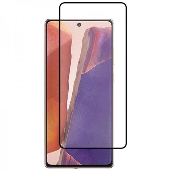 Folie Protectie Ecran Hybrid Upzz Ceramic Full Glue Pentru Samsung Galaxy Note 20 Ultra, Transparenta Cu Margine Neagra imagine itelmobile.ro 2021