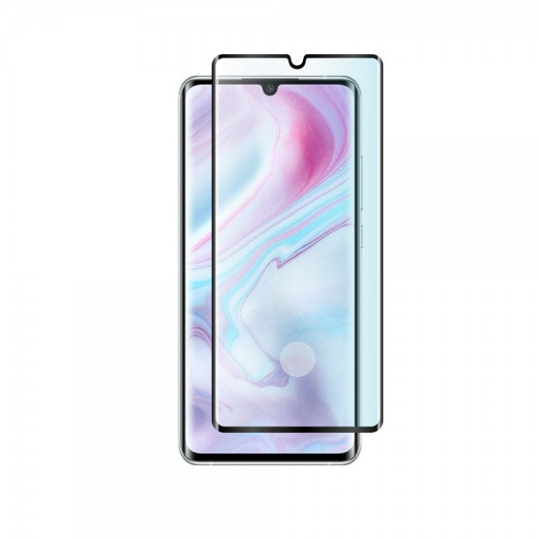 Folie Protectie Ecran Hybrid Upzz Ceramic Full Glue Pentru Xiaomi Mi Note 10 / Mi Note 10 Pro, Transparenta Cu Margine Neagra imagine itelmobile.ro 2021