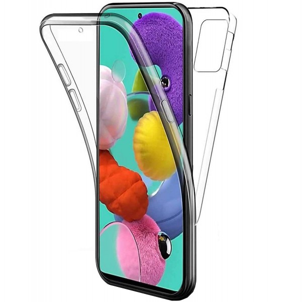 Husa 360 Grade Full Cover Upzz Case Samsung Galaxy M51, Transparenta imagine itelmobile.ro 2021