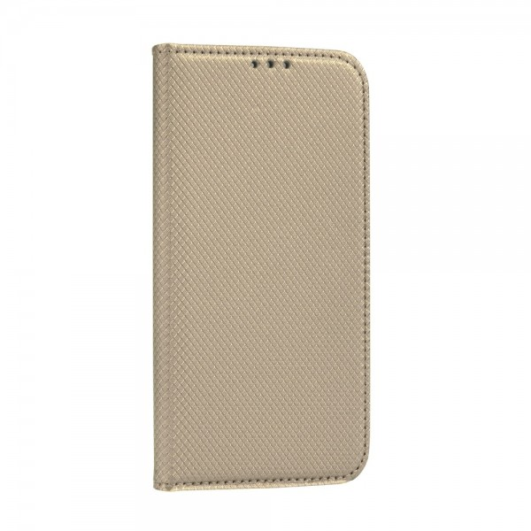 Husa Flip Cover Upzz Smart Book Pentru Samsung Galaxy M51, Gold imagine itelmobile.ro 2021