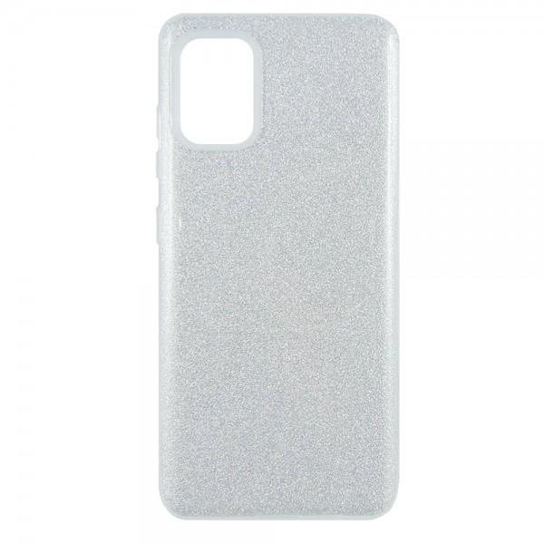 Husa Spate Upzz Shiny Lux Samsung Galaxy A71, Silver imagine itelmobile.ro 2021