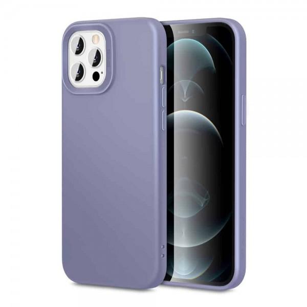 Husa Premium Esr Cloud Antishock iPhone 12 / iPhone 12 Pro, Gri imagine itelmobile.ro 2021