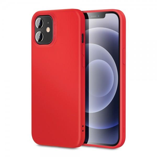 Husa Premium Esr Cloud Antishock iPhone 12 Mini, Rosu imagine itelmobile.ro 2021
