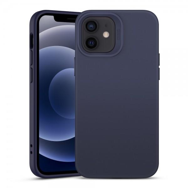 Husa Premium Esr Cloud Antishock iPhone 12 Mini, Midnight Blue imagine itelmobile.ro 2021