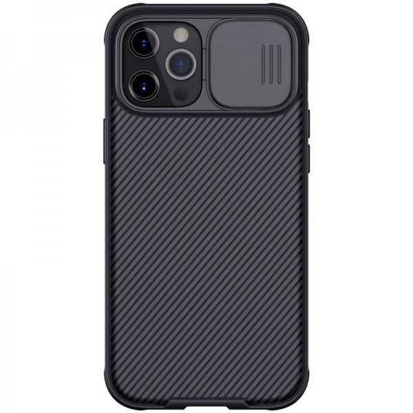 Husa Premium Nillkin Cam Shield Pentru iPhone 12 / 12 Pro - Protectie La Camera imagine itelmobile.ro 2021