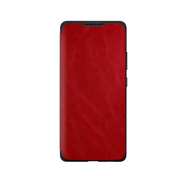 Husa Premium Flip Book Upzz Leather Samsung Galaxy A20s, Piele Ecologica, Rosu imagine itelmobile.ro 2021