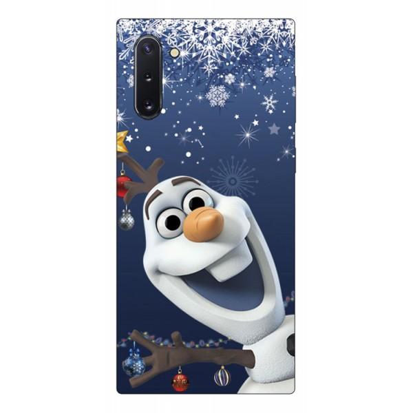 Husa Slim Silicon Upzz X-mass Print Samsung Galaxy Note 10 Model Craciun 8 imagine itelmobile.ro 2021