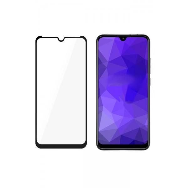 Folie Nano 3mk Flexible Glass Max Compatibil Cu Samsung Galaxy M21, Transparenta Cu Margine Neagra imagine itelmobile.ro 2021