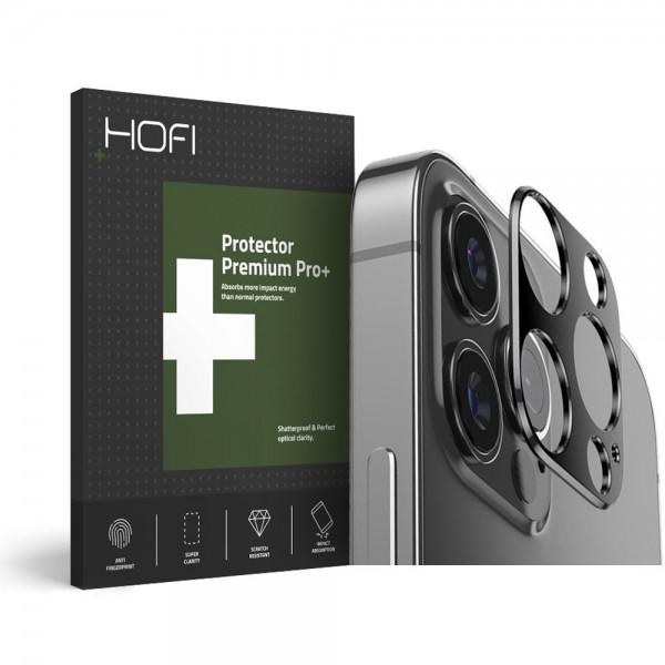 Protectie Hofi Pentru Camera iPhone 12 Pro, Metal - Negru imagine itelmobile.ro 2021