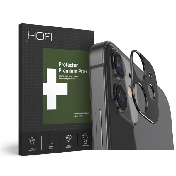 Protectie Hofi Pentru Camera iPhone 12 , Metal - Negru imagine itelmobile.ro 2021