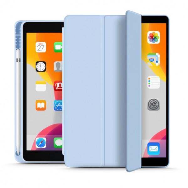 Husa Upzz Tech Smartcase Sc Pen Ipad 7 / 8, 10.2inch, 2019 / 2020, Sky Blue imagine itelmobile.ro 2021