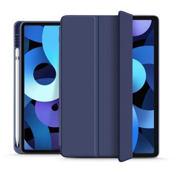 Husa Upzz Tech Smartcase Sc Pen Compatibila Cu Ipad Air 4 ( 2020 ), Navy Blue Metalic imagine itelmobile.ro 2021