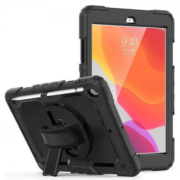 Husa Tableta Upzz Tech Solid 360 Pentru Ipad 7/8 10.2inch 2019/2020 ,negru imagine itelmobile.ro 2021