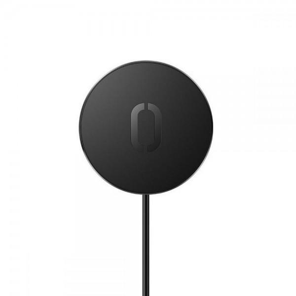 Incarcator Premium Magsafe Joyroom Pentru Noile iPhone 12 / 12 Pro / 12 Pro Max, Putere 15w, Negru imagine itelmobile.ro 2021