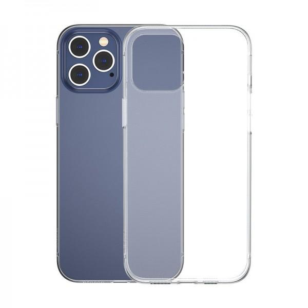 Husa Slim Baseus Simple Pentru iPhone 12 / 12 Pro, Transparenta, Silicon imagine itelmobile.ro 2021
