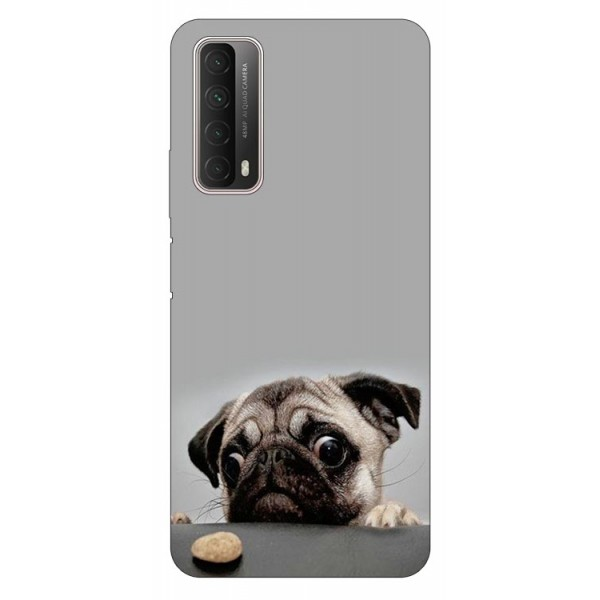 Husa Silicon Soft Upzz Print Huawei P Smart 2021 Model Dog imagine itelmobile.ro 2021