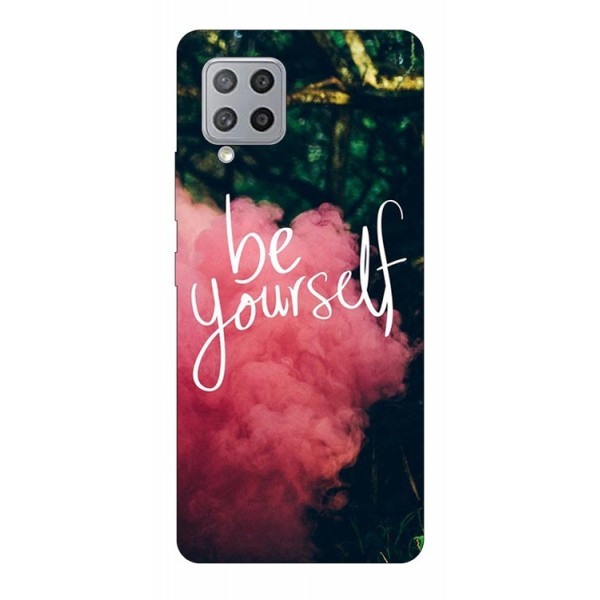 Husa Silicon Soft Upzz Print Samsung Galaxy A42 5g Model Be Yourself imagine itelmobile.ro 2021