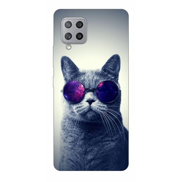 Husa Silicon Soft Upzz Print Samsung Galaxy A42 5g Model Cool Cat imagine itelmobile.ro 2021