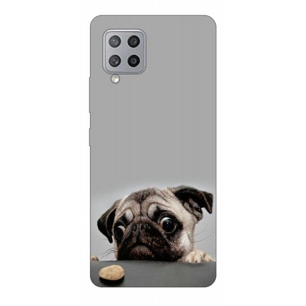 Husa Silicon Soft Upzz Print Samsung Galaxy A42 5g Model Dog imagine itelmobile.ro 2021