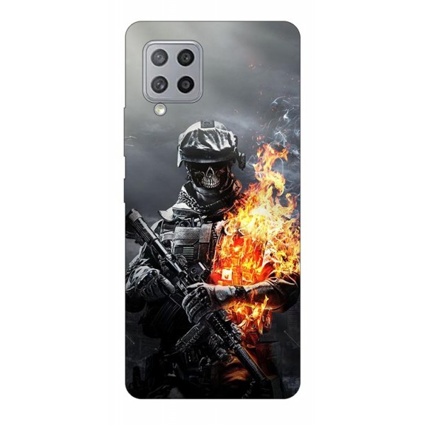 Husa Silicon Soft Upzz Print Samsung Galaxy A42 5g Model Soldier imagine itelmobile.ro 2021