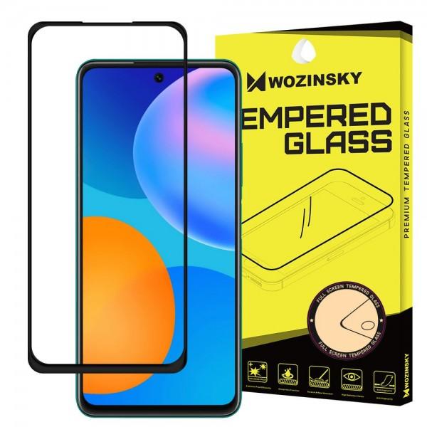 Folie Sticla 5d Wozinsky Tough Screen Full Glue Pentru Huawei P Smart 2021, Transparenta Cu Margine Neagra imagine itelmobile.ro 2021