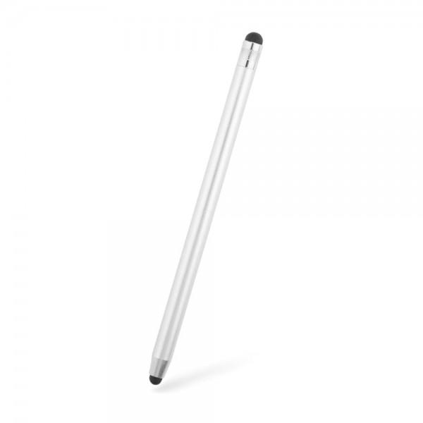 Stylus Pen Upzz Tech Pentru Tablete Si Telefon, Silver imagine itelmobile.ro 2021