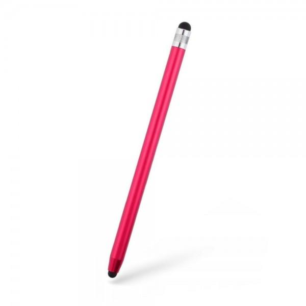 Stylus Pen Upzz Tech Pentru Tablete Si Telefon, Rosu imagine itelmobile.ro 2021