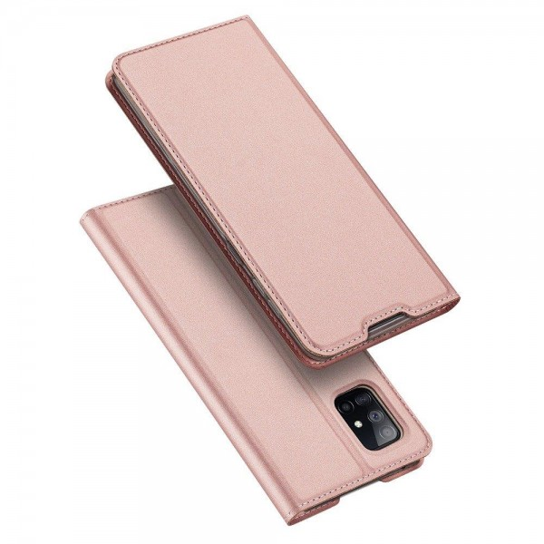 Husa Flip Cover Premium Duxducis Skinpro Samsung Galaxy S20 Fe, Roz imagine itelmobile.ro 2021