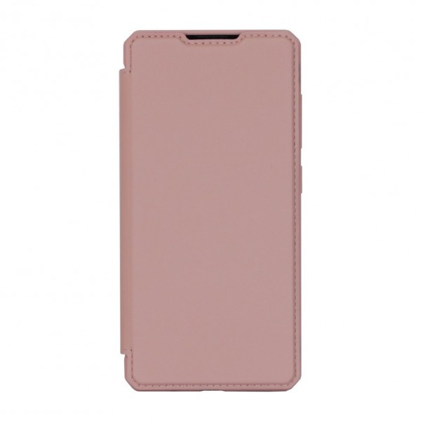 Husa Flip Cover Premium Duxducis Skinpro Samsung Galaxy A42 5g, Roz imagine itelmobile.ro 2021