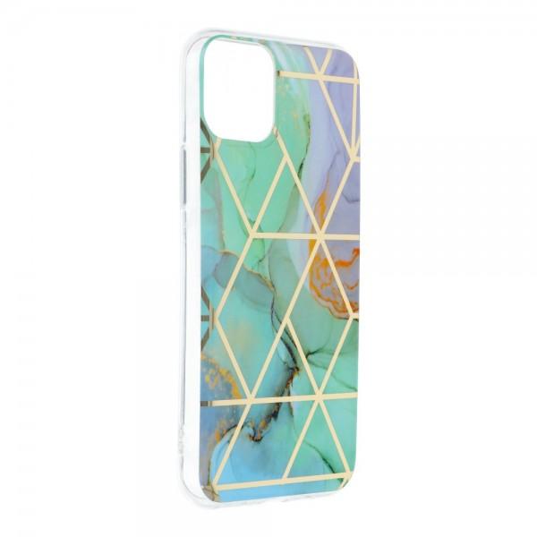 Husa Upzz Silicone Marble Cosmo Compatibila Cu iPhone 12 / 12 Pro, Model 3 imagine itelmobile.ro 2021
