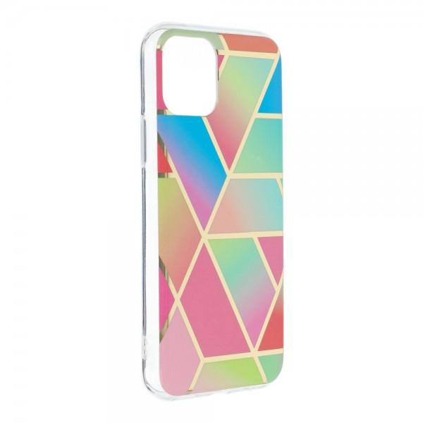 Husa Upzz Silicone Marble Cosmo Compatibila Cu iPhone 12 / 12 Pro, Model 4 imagine itelmobile.ro 2021