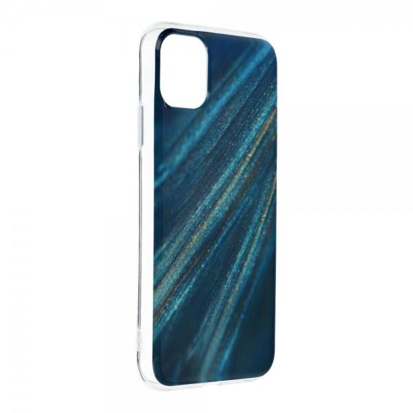 Husa Upzz Silicone Marble Cosmo Compatibila Cu iPhone 12 / 12 Pro, Model 10 imagine itelmobile.ro 2021