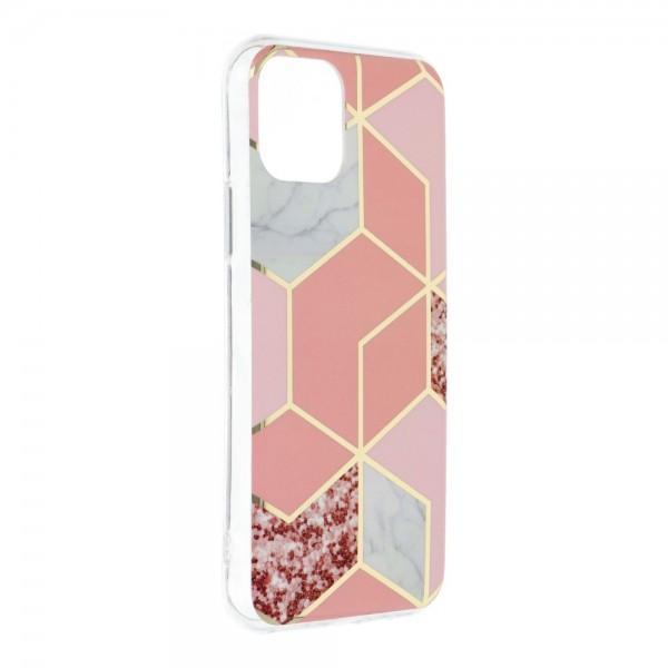 Husa Upzz Silicone Marble Cosmo Compatibila Cu iPhone 12 Mini, Model 2 imagine itelmobile.ro 2021