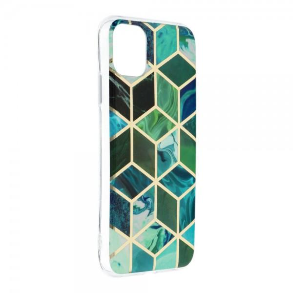 Husa Upzz Silicone Marble Cosmo Compatibila Cu iPhone 12 Mini, Model 8 imagine itelmobile.ro 2021