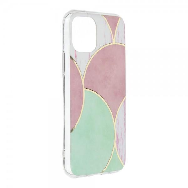 Husa Upzz Silicone Marble Cosmo Compatibila Cu iPhone 12 Pro Max, Model 5 imagine itelmobile.ro 2021
