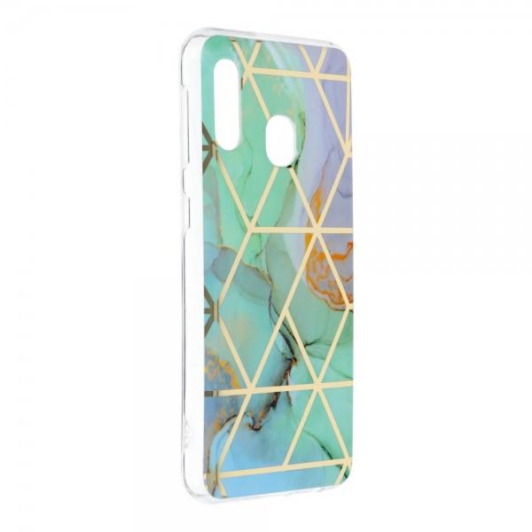 Husa Upzz Silicone Marble Cosmo Compatibila Cu Samsung Galaxy A20e, Model 3 imagine itelmobile.ro 2021