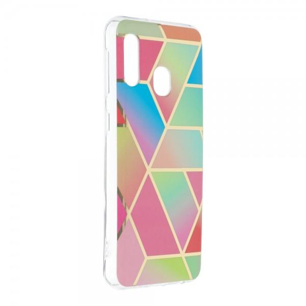 Husa Upzz Silicone Marble Cosmo Compatibila Cu Samsung Galaxy A20e, Model 4 imagine itelmobile.ro 2021