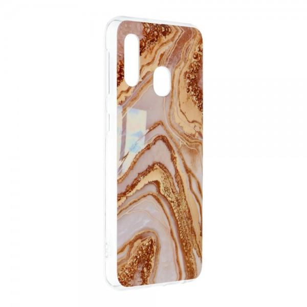 Husa Upzz Silicone Marble Cosmo Compatibila Cu Samsung Galaxy A20e, Model 9 imagine itelmobile.ro 2021
