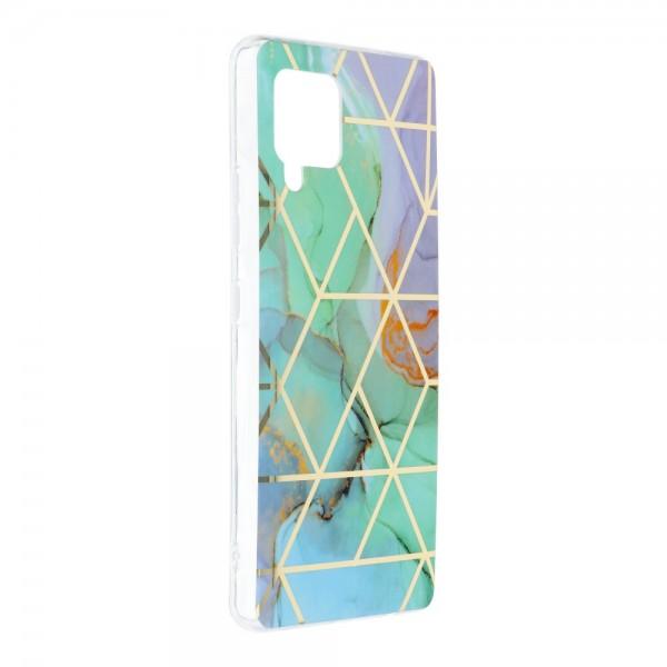 Husa Upzz Silicone Marble Cosmo Compatibila Cu Samsung Galaxy A42 5g, Model 3 imagine itelmobile.ro 2021