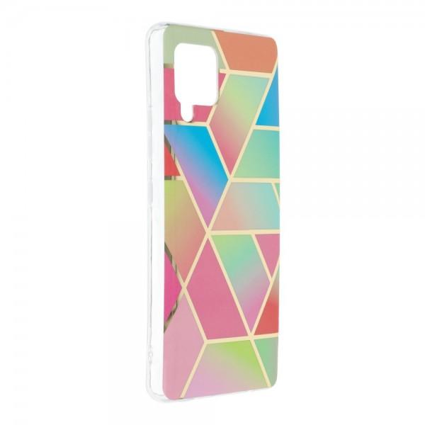 Husa Upzz Silicone Marble Cosmo Compatibila Cu Samsung Galaxy A42 5g, Model 4 imagine itelmobile.ro 2021
