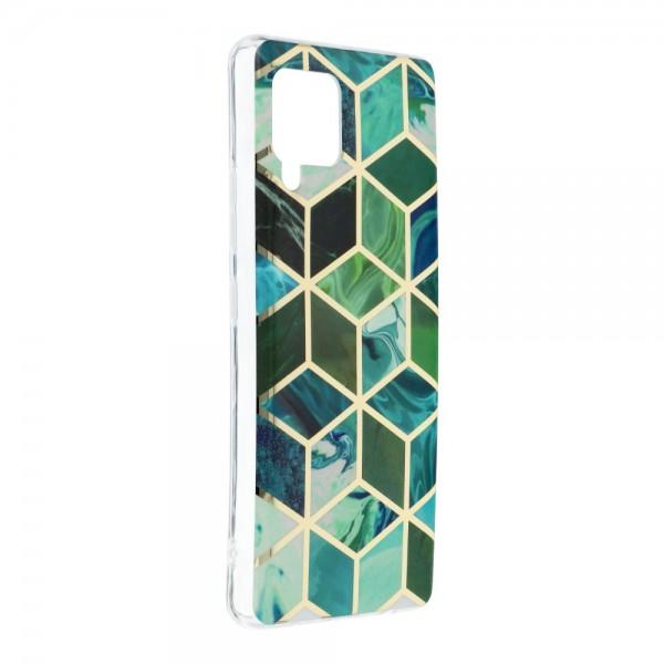 Husa Upzz Silicone Marble Cosmo Compatibila Cu Samsung Galaxy A42 5g, Model 8 imagine itelmobile.ro 2021