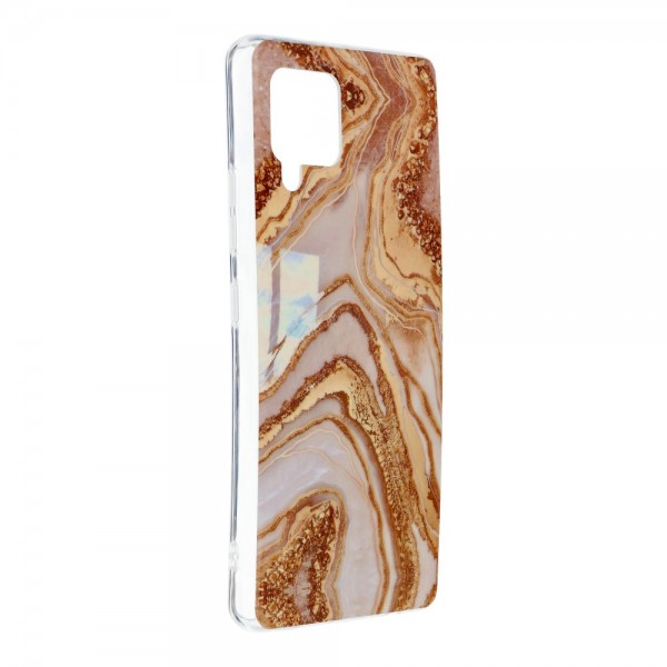 Husa Upzz Silicone Marble Cosmo Compatibila Cu Samsung Galaxy A42 5g, Model 9 imagine itelmobile.ro 2021