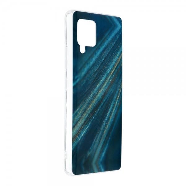Husa Upzz Silicone Marble Cosmo Compatibila Cu Samsung Galaxy A42 5g, Model 10 imagine itelmobile.ro 2021